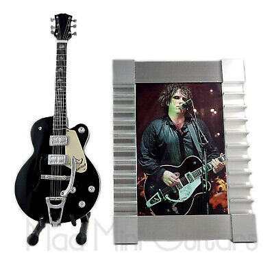 Miniature Guitar ROB SMITH with Stand + Photo + Frame THE CURE