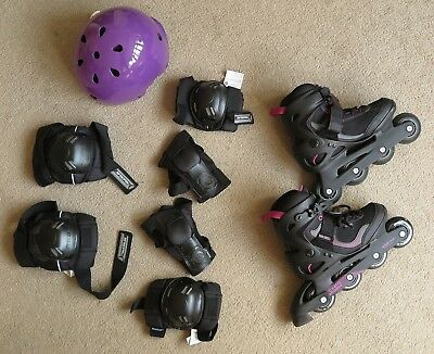 Inline Skates with protections Sports equipment Woman 37/ Uk 4