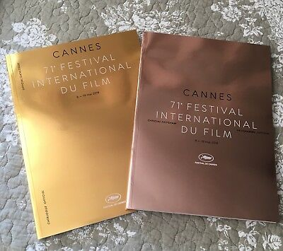 OFFICIALS PROGRAM & CATALOGUE CANNES PROGRAMME & CATALOGUE 71e FESTIVAL (2018)