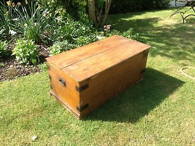 Antique blanket chest /coffee table
