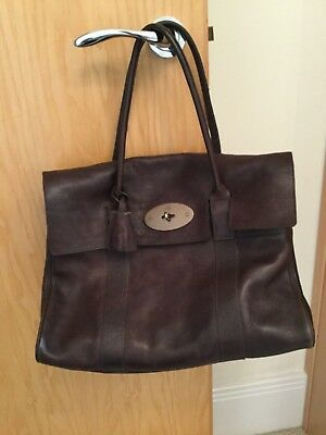 a08303abe7 Beautiful Genuine Mulberry Bayswater in Chocolate Brown Leather With Dust  Bag