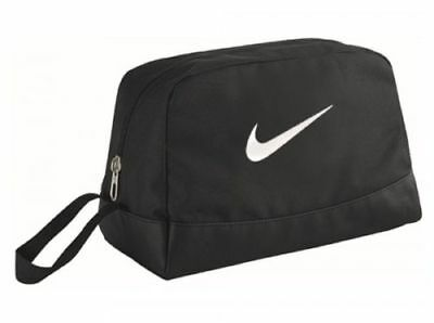Nike OFFFICIAL Toiletry Wash Bag Black  Holidays Travel Sports Official Product