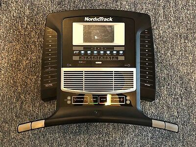 Nordictrack Elite 7700 Treadmill Console Part No 366378 Retail
