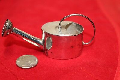 Vintage 925 Sterling Silver Watering Can Vermouth Sprinkler