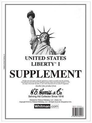 HE Harris Stamp Album Supplement Page Liberty I 1 2017 New Free Shipping Deal