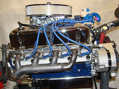 500hp sb ford custom turn key 347 stroker crate engine complete 347484hp ford turn key dyno run high performance balanced complete engine malvernweather Images