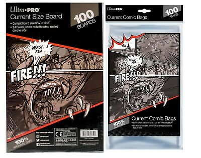 Ultra Pro Bags & Ultra Pro Comic Boards (Current/Silver/Gold/Magazine)