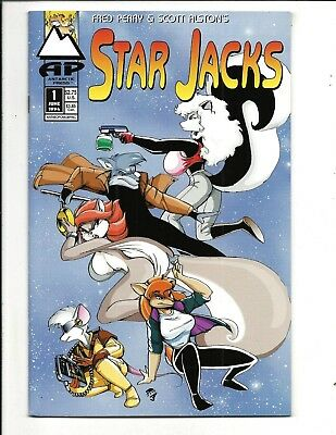 STAR JACKS # 1 (Antarctic Press, FRED PERRY & SCOT ALSTON, JUNE 1994), NM