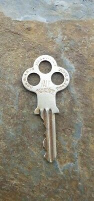 Antique Yale & Towne Nickel Silver Key Patented    Oct 8th, 1878 & Nov 2nd, 1880