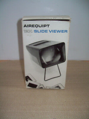 Vintage AIREQUIPT 12X Magnification Photography Slide Viewer VGC Untested