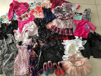 Bulk New Without Tags Designer & Like New Girls Clothing Over $800 Rrp 3-4
