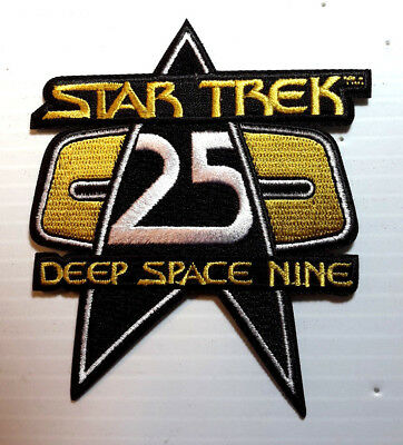 "Star Trek: Deep Space 9 DELUXE 25th Anniversary 4"" Collector Patch (STPA-5008)"