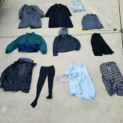 Women Mens Clothing Mixed Clothing Lot Resale Various Sizes Coats Dockers Avenue