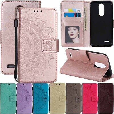 For LG K30 K10 K20 Plus V G3 G4 G5 G6 Wallet Card Holder Flip Leather