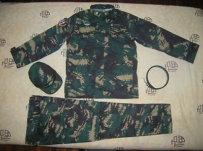 07's series China PLA Special Forces NCO Digital Camo Combat Clothing,Set