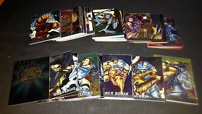 1995 Fleer Ultra X-Men Cards 1 TO 100 SET MARVEL - HAUNTED MANSION
