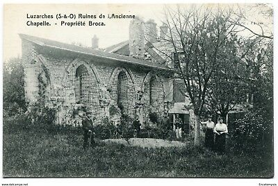 CPA - Carte postale -France Luzarches - Ruines de l'Ancienne Chapelle (CP3018)