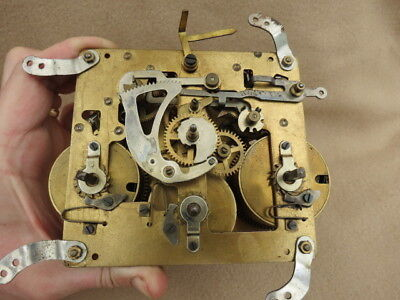 Vintage German Westminster Chime Clock Movement For Spares Repair Lot F