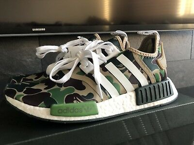 26ccc24be Adidas bape nmd r1 camo uk7 brand new with receipt trainers CHEAPEST ON  EBAY !