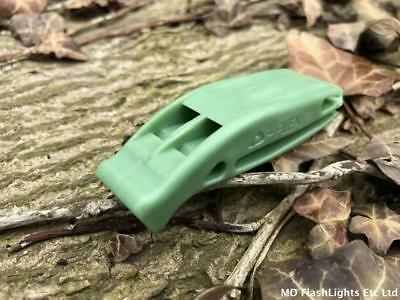 Ultra Loud Emergency Survival Green Lifeboat Distress Whistle Hiking Walking