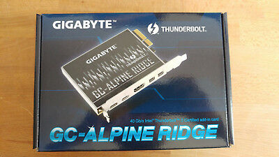 GIGABYTE GC-ALPINE RIDGE Thunderbolt 3 PCIe Adapter