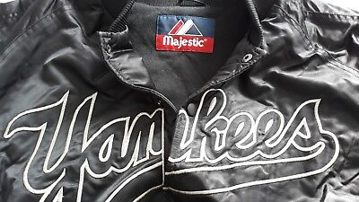 NY Yankees Baseball Jacke - MLB Majestic Athletics