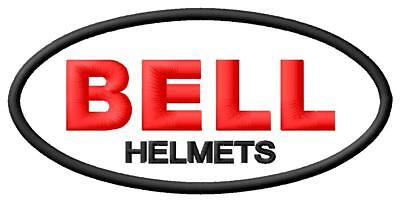Bell Helmets embroidered IRON ON PATCH Aufnäher Parche brodé patche toppa Racing