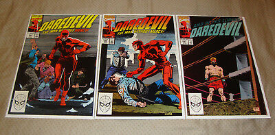 Daredevil #285-287 (1990) Marvel Comic Lot Of 3 FN To FN+ Condition