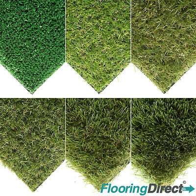 CLEARANCE Luxury Artificial Grass Astro Turf  Realistic Fake Lawn Green Garden