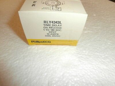 Rly4343L Philips Ecg Time Delay On Release Relay(R32-11D10-24L)24Vdc,nos
