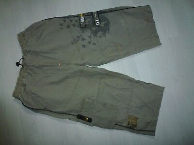 *HERE&THERE* Coole Bermuda/Shorts 158 khaki lange Form,sehr cool............