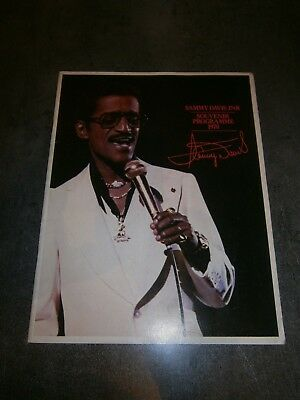 Grand programme souvenir sammy davis junior 1978
