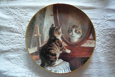 Franklin Mint Teller Picture Perfect Katze Katzchen
