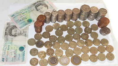 91,14 POUND KONVOLUT UNITED KINGDOM £ 2 Pounds GB FREMDWÄHRUNG GELD PENCE
