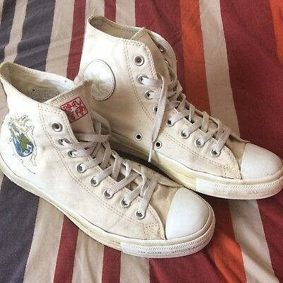 JOHN LENNON CONVERSE All Star Size 8 Limited Edition Rare Beatles Music Band