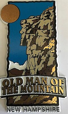 Old Man Of The Mountain New Hampshire Magnet