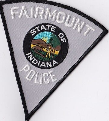 Fairmount Police IN Indiana Police Patch NEW