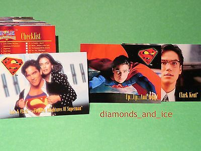 Lois and Clark:  The New Adventures of Superman Trading Card, 80-Card LOT