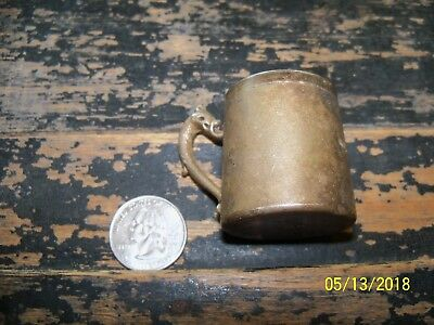 Antique Miniature Rockford Silver Cup or Mug Coldwater, Mich