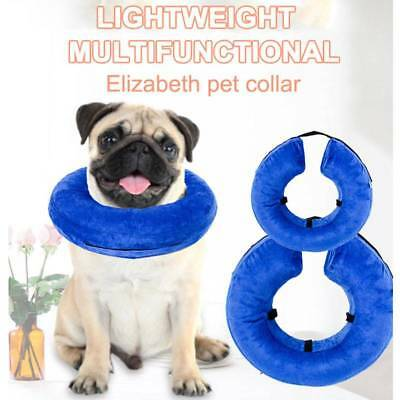 Inflatable Pet Collar Dog Cat Wound Healing Protection Anti Bite Safety Collar