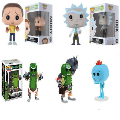 2018 Rick and Morty Pickle Rick Pop Action Figure Toy Doll Best Kids Gift