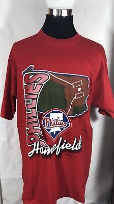 c416985a vintage starter Philadelphia Phillies T-shirt size XL made in the USA s29