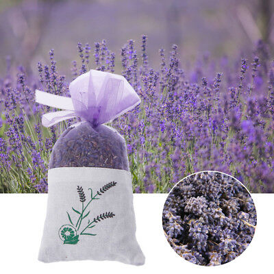 Natural Lavender Bud Dried Flower Sachet Bag Aromatherapy Aromatic Refresh Air