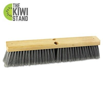 Floor Brush Head Bristle 18 in Wide Flagged Polypropylene Home Cleaning Tool