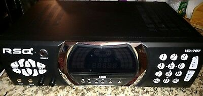 RSQ HD-787 Hard Drive Karaoke Player Console / Receiver Only As Is