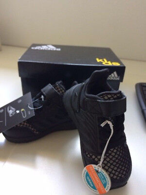 black kids toddler adidas runners sneakers shoes 4K - BRAND NEW IN BOX