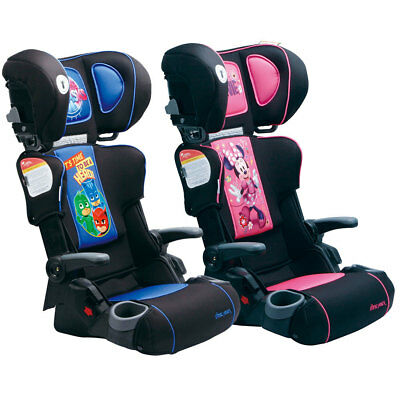 First Years Foldable Booster Car Seat/4-8yr Toddler Children Kids/Boys/Girls