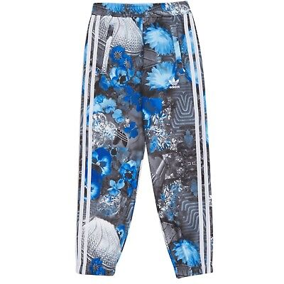 adidas Originals Girls Jungle Junior Trousers AB2227 Bold Blue and White 11-12 Y