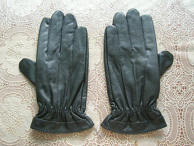 07's series China PLA Army Officer Combat Sheepskin Leather Gloves