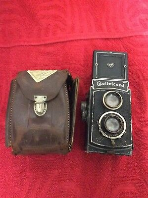 Vintage rolleicord Camera And Case